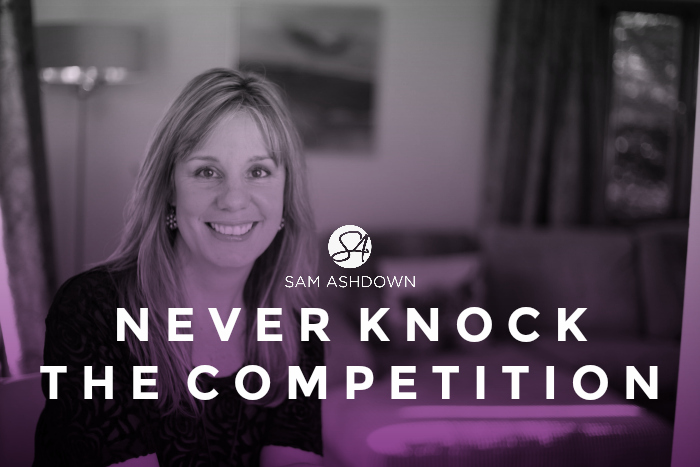 Never Knock the Competition