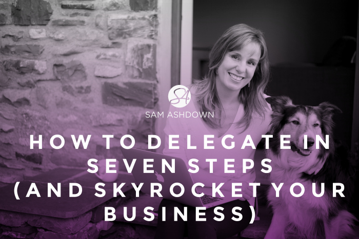 How to Delegate in Seven Steps  (and Skyrocket your Business)