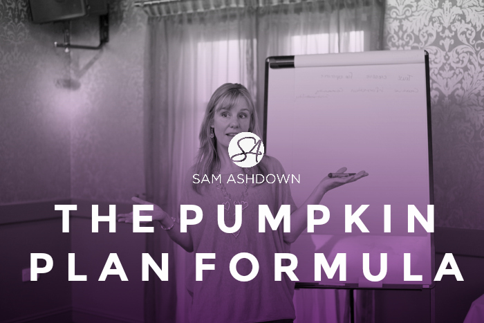 The Pumpkin Plan Formula