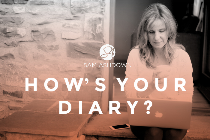 How's your diary?