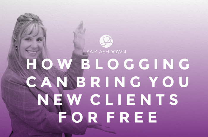 How blogging can bring you new clients for free
