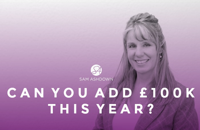 Can you add £100k this year?