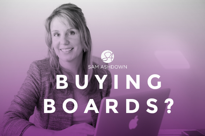 Buying Boards?