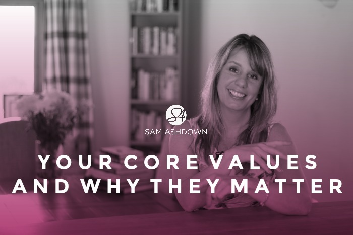Your Core Values and Why They Matter