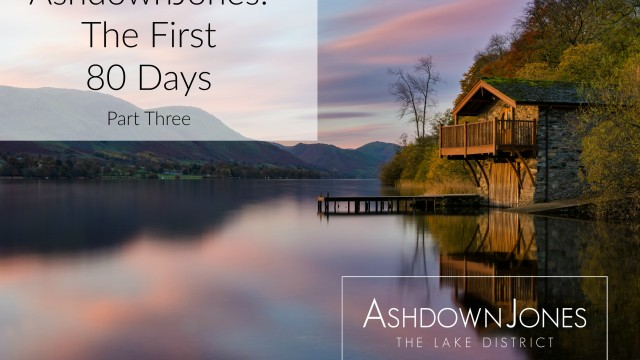 Ashdownjones: The First 80 Days