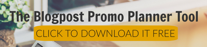 Promo planner tool button