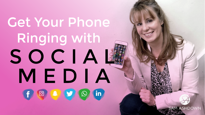 Social Media – how to use it to get your phone ringing