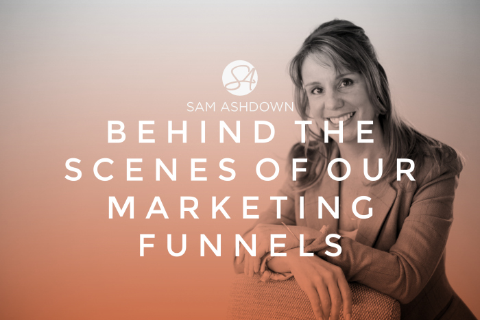 Behind the scenes of our marketing funnels