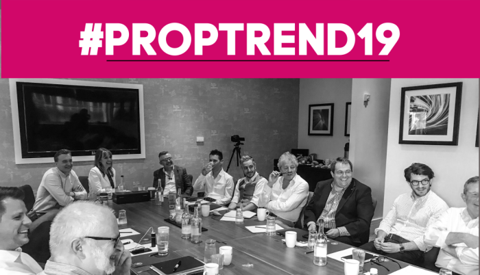 Sam at Proptrend2019 conference #Proptrend2019