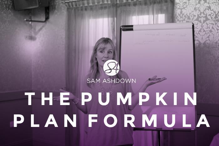The Pumpkin Plan Formula