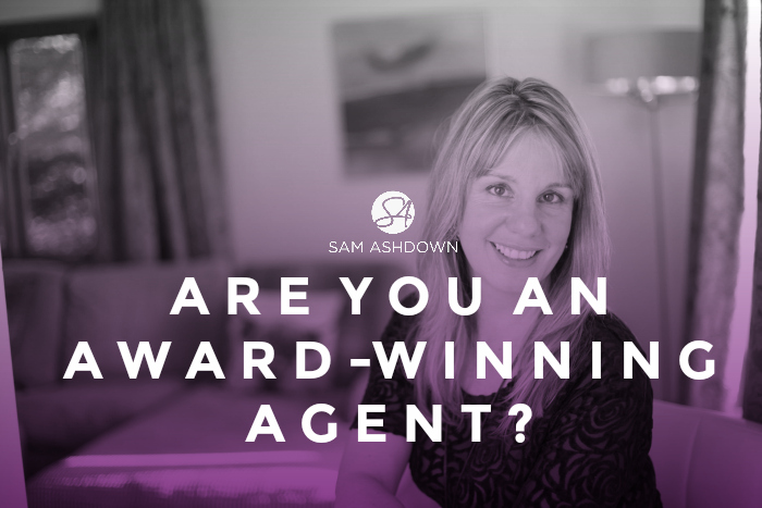 Are you an Award-Winning Agent?