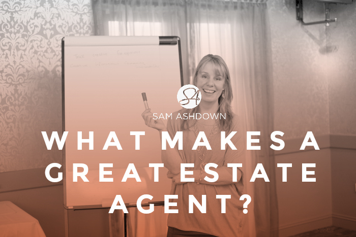 What makes a GREAT estate agent?