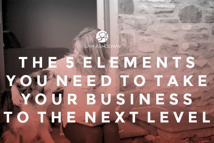 The 5 elements you need to take your business to the next level