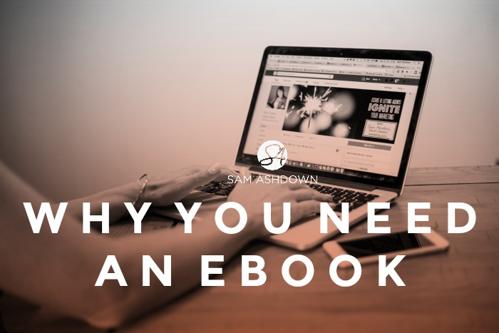 Why you need an ebook