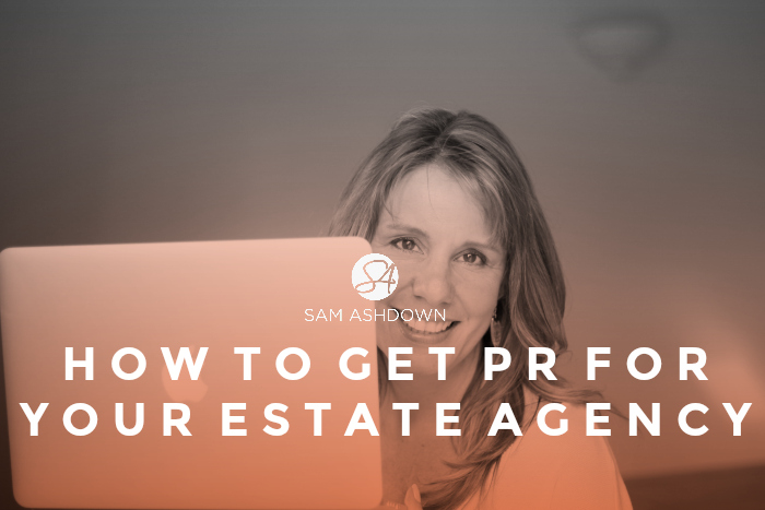 How to get PR for your estate agency