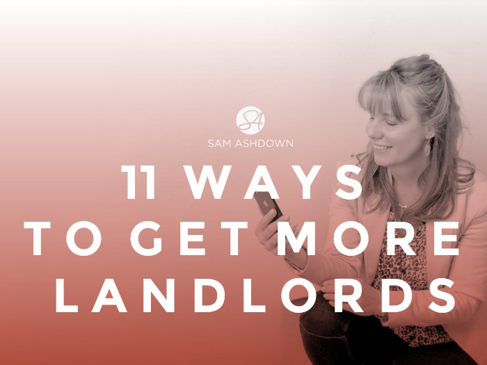 11 Ways to get more Landlords