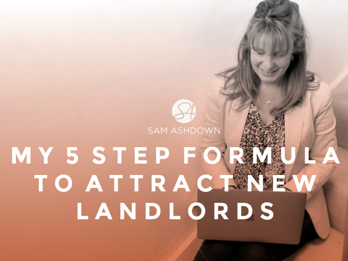 My 5 Step Formula to Attract New Landlords