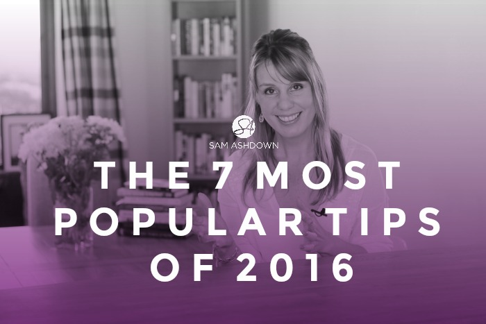 The 7 most popular tips of 2016