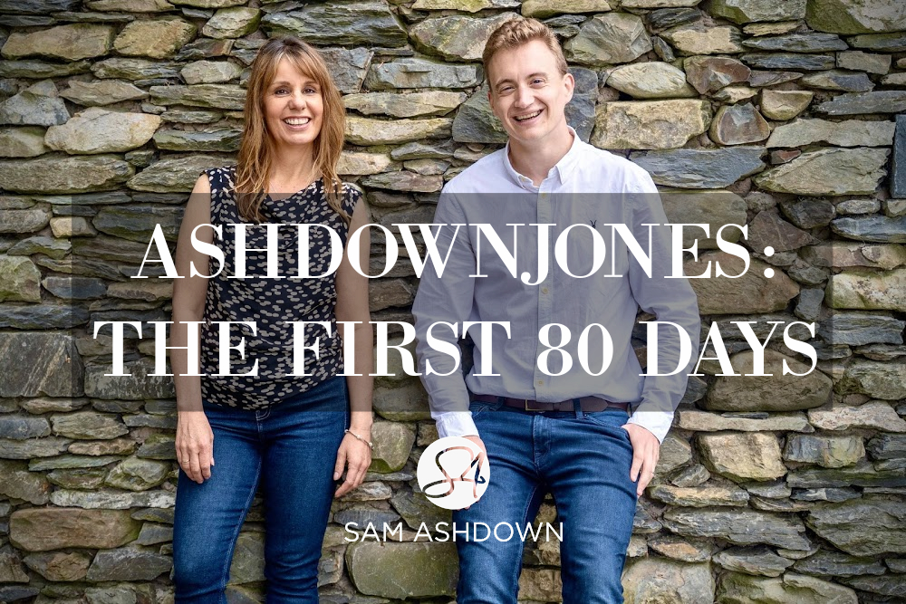 AshdownJones: the First 80 Days