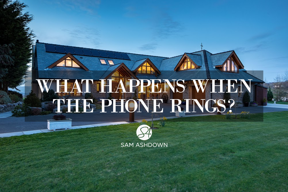 What happens when the phone rings blogpost for estate agents by Sam Ashdown