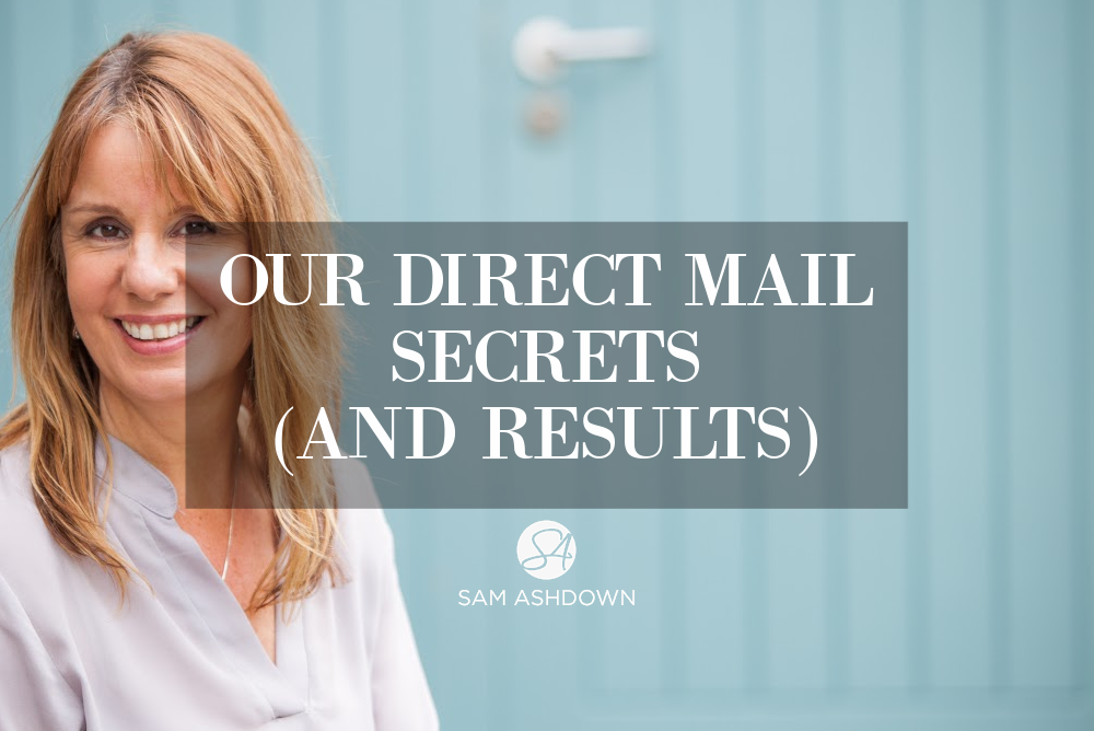 Our Direct Mail Secrets (and results) blogpost for estate agents by Sam Ashdown