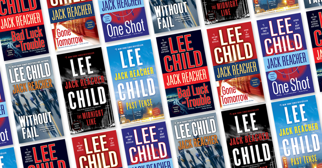 25 Jack Reacher books by Lee Child